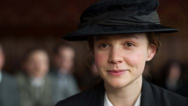 Carey Mulligan stars in <i>Suffragette</i>, which opens on Boxing Day.