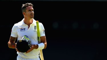 Kevin Pietersen has lashed out at England's heirachy.