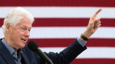An Elvis fan: Former President Bill Clinton.