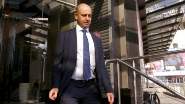 NRL CEO Todd Greenberg met with Manly officials on Tuesday.