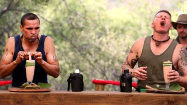 Anthony Mundine and Danny Green go head to head on season four of I'm a Celebrity ... Get Me Out of Here.