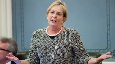 Queensland MP Ros Bates gave an impassioned speech in Parliament in support of new domestic violence legislation.
