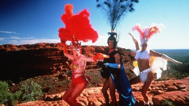 The film The Adventures of Priscilla, Queen of the Desert was an ironic reference for the equality tour of the regions.