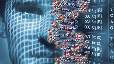 Filling in the blanks: Experts predict a day when an offender's DNA could be used to reveal their face.