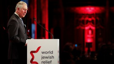 Prince Charles warns the lessons of the Second World War are in danger of being forgotten.
