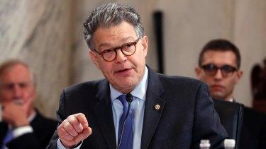 Democratic Senator Al Franken has raised questions about the President's mental health.