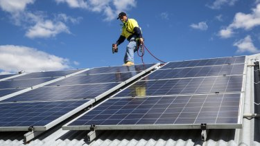Solar panel owners will have their charge to connect to the network doubled.