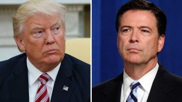 He said, he said: Donald Trump and James Comey's accounts differ.
