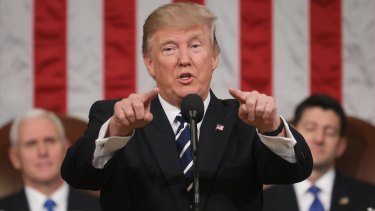 US President Donald Trump: an admirer of our immigration policy.