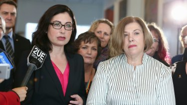 Labor's Terri Butler and former Coalition MP Teresa Gambaro proposed marriage equality legislation to the Federal Parliament last year.