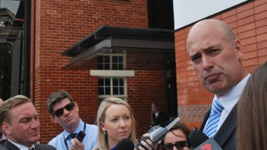 Dean Nalder says the DPC knew about his business links.