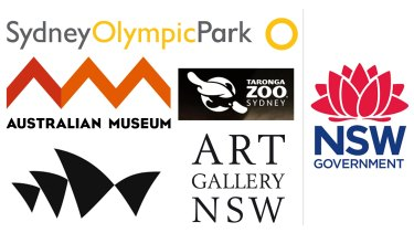 """The """"Orwellian"""" rebranding exercise requires famous icons to replace their logos with the waratah."""