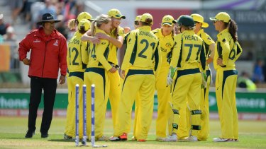 Chasing parity: ​Australian cricket's pay saga continues to bubble but progress has been made in the warring parties' push for greater gender equality.