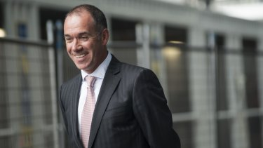 NAB chief Andrew Thorburn is yet to file the bank's defence.