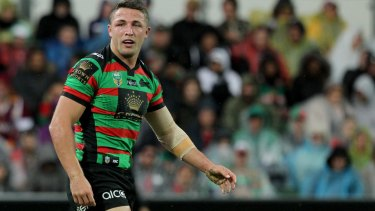 International: Sam Burgess could add the United States to the list of countries he's played in.