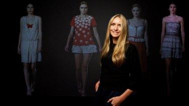 Fashion designer Collette Dinnigan has done her last Aldi collection.