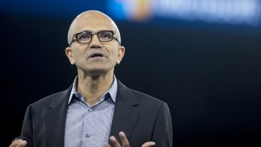 Microsoft chief executive Satya Nadella said the next era of computing will be defined by wearable devices, team diversity and clever use of big data.