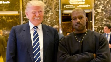 Donald Trump met with Kanye West on Tuesday.