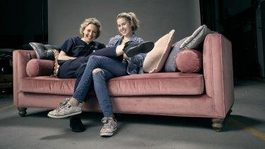 Roz Hammond (left) and Bridie McKim star in The Heights.