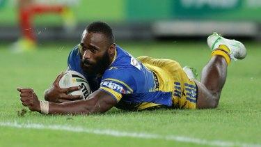 Fiji talent: Parramatta's Semi Radradra.