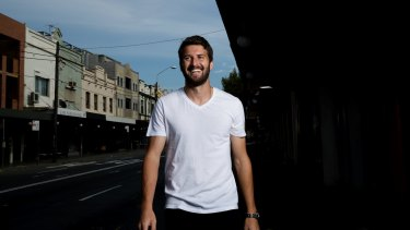 Central Coast Mariners' defender Antony Golec has played football in Moldova and Iran, but is now happy to be back in his Sydney home of Newtown.