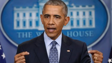 Former president Barack Obama spoke in a positive tone about the state of the world.
