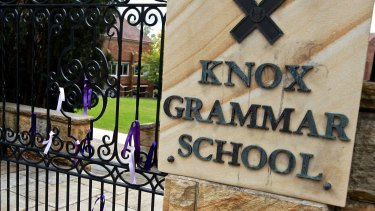 A spat between two Knox Grammar mothers on WeChat has reached the Supreme Court.