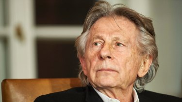 French-Polish film director Roman Polanski.