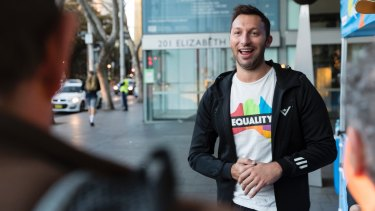 The former Australian swimmer Ian Thorpe encourages people to vote in support of marriage equality.