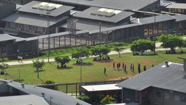 Christmas Island detention centre.