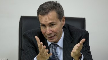 Alberto Nisman, the murdered prosecutor investigating the 1994 bombing, in 2013.