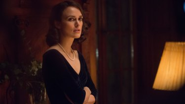 Keira Knightley defies rationing in an extraordinary collection of evening wear.