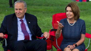 Trump supporters believed House Minority Leader Nancy Pelosi and Senate Minority Leader Chuck Schumer of NY.