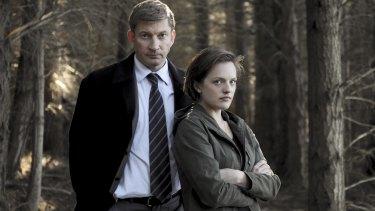 <i>Top of the Lake</i> season one starring David Wenham and Elisabeth Moss.