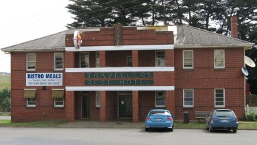 The Travellers Rest Hotel in Thorpdale.