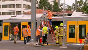 Transport minister Andrew Constance issued an apology to the man who was injured.