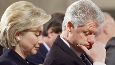 White House insiders say the relationship between Bill and Hillary Clinton was frosty during the Monica Lewinsky affair.