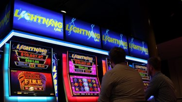 In other nations, gaming machines are kept only in hotels, casinos and gaming centres. Here they are found in pubs and bistros, and often deliberately placed in our poorest areas.