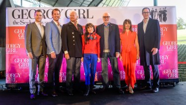 Now and then: The Seekers with the cast of <i>Georgy Girl</i> the musical.