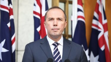 Immigration Minister Peter Dutton – exporting our problems far away.
