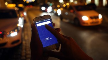 The war between taxis and ride sharing services erupted into violence this week.