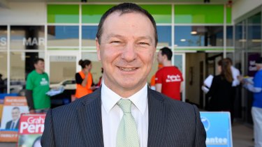 Moreton MP Graham Graham Perret was one of the first backers of the same-sex marriage legislation.