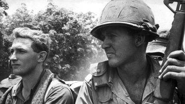 An Australian soldier in Vietnam around 1966.