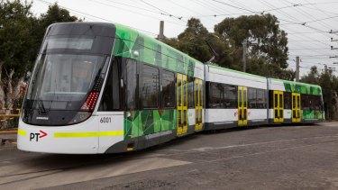 One of the original 50 E-Class trams.