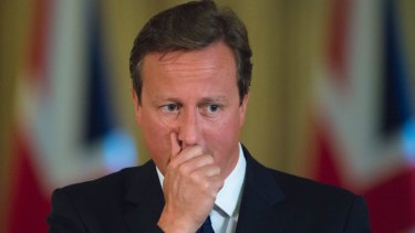 Hoax call: David Cameron.