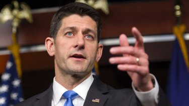 House Speaker Paul Ryan cancelled his planned appearance with Donald Trump on Saturday.