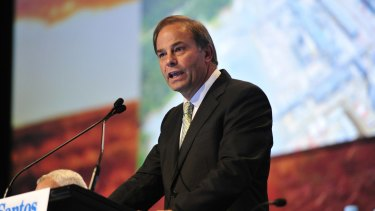 Santos chief executive David Knox is cutting more costs and jobs from the oil and gas player.