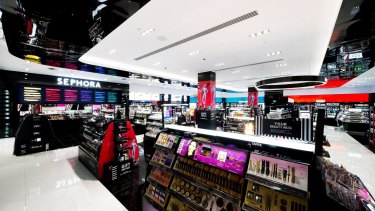The new Sephora store at Westfield Bondi Junction will be the group's 11th in Australia.