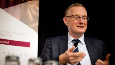 "RBA governor Philip Lowe. The board said a ""neutral"" cash rate of 3.5 per cent would be the point at which stable inflation and economic expansion were likely to meet."