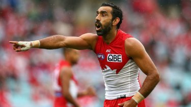 """Orchestrated and contagious"" vilification: Adam Goodes."
